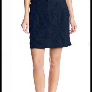 NWT Royal Robbins Back country skirt UPF 50